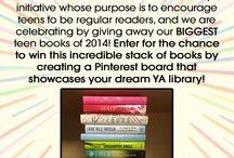 Penguin Teen Build Your Dream Library Teen Read Week Sweepstakes / by Jaz Kemp