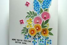 Feel Better Soon/Get Well Card Inspiration / by Patty Albertson
