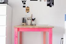 study corner / by Jennifer Koziol