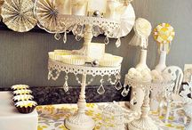 Gray & Yellow Baby Shower / by Christy of Itsy Belle