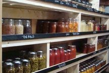 Food Storage/Pantry / by Diann Thrifty Groove