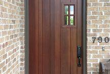 FRONT DOOR DESIGN IDEAS / by Reese Hall