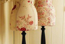 Crafts - Dress Forms/Mannequins / by Geri Johnson