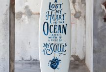 let the sea set you free / surf and ocean / by Daina Lightfoot