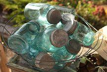 mason jars / by Debbie Roller