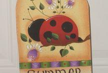 Ladybugs... 8-) / by Shannon White