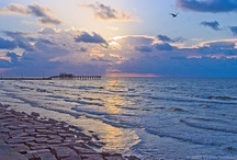 Near Gulf Waters / memories of Galveston / by Monica Lammes