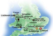 2015 Britain only Tours (includes England, Scotland & Wales) / by CIE Tours International