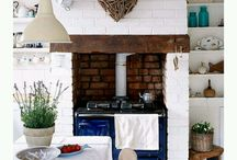 fire places, stoves / by Jennifer Jewkes
