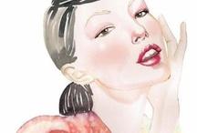 F A S H I O N ilustration  / by Yenny Bastida