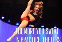 Cheerleading <3 / by Alicia Hooie
