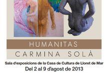 Humanitas de Carmina Solà / Es pot visitar del 2 al 9 d'agost de 2013 La geometria, el codi de l'univers. La Geometria és una metáfora, la forma hologràfica de l'ordenació de l'Univers. És l'estudi de les proporcions, patrons, sistemes, codis i símbols que es troben en l'estructura de la vida de la matèria i més enllà. És la petjada, la marca digital de la creació. / by Expovirtual @bibliolloret