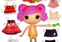 paper dolls / by charlene grawey