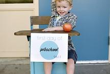 Ideas For Kiddos Starting School / by Rainha Brazilva