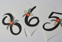 Table Number Ideas / by Magnolia & Twig