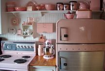 Retro Kitchens & Dining Rooms / by reprise vintage
