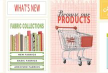 Fav Fabric Designers / by Crystal Lybrink
