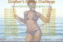 Monthly Fitness Challenges & Promotion  / by IamReinventingME