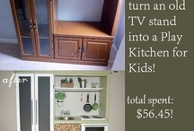 Kitchen Sets/Food Sets / by Shelby Thomas