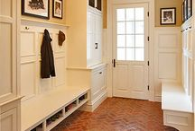 entryway. mudroom. / by judi burrows-inspired (vintage.home.design)