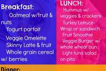Healthy food options / by Kimberlee Squanda