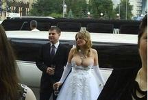 Trashy Wedding dresses / by Krystel Smalls