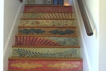steps to basement / by Susan Deese