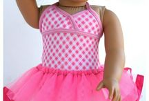 doll clothes / by Kathy Winters