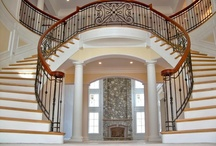 Dream Home - Entry Ways & Stairs / by Kelsey Hoover