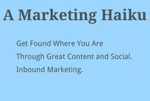 Inbound Poetry / Inbound Marketing Poetry  #inboundpoetry / by Thinkhandy ☛