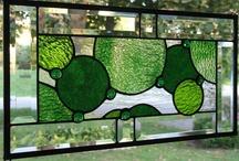 STAINED GLASS BEVELS / by Debra Shipley