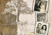 "Scrapbooking & Vintage Photos / by Brenda ""Brandy"" Haas-Hauger"