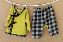 Titchy Threads Little Kid Kimono Set / by craftstorming
