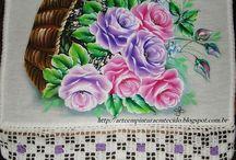 Pintura em tecido (1) / by Maria Alberto