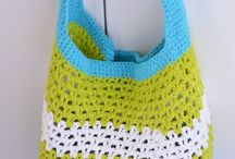 Crochet totes and bags / by Julie Copeland