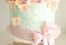 Stenciled cake inspiration  / by Jenniffer White