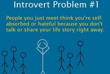 Introvert me / by Gloria Ann