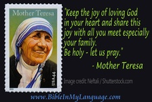 Mother Teresa Quotes  / by BIBLE WORLD