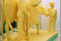 Awesome Butter Sculptures / by Myrna Rex