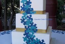 """""""We Fit Together"""" at Spirit Mountain / Sara & Tom's Puzzle themed wedding! / by Northland Special Events"""