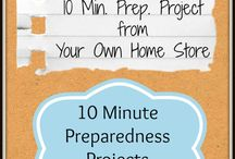 Group Board: Quick Preparedness Projects / The ideas on this board will help you become better prepared in 30 minutes or less each.  They are simple things you can do even if you don't have a lot of time.   Join board by invitation only.  Please post no more than three times per day. / by Misty Marsh of Your Own Home Store