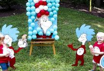 Dr. Seuss Birthday / Celebrate Dr. Seuss Day on or around March 2nd which is Dr. Seuss birthday!  Enjoy these Dr. Seuss crafts, activities signs, clip art, decorations, and free printables. / by Laurie ~ Tip Junkie
