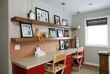 Office ideas / by Rebecca Sherman