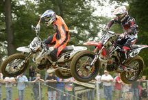 2014 Peoria TT / In addition to racing at a venue with such a rich racing history, the Peoria Motorcycle Club's Peoria TT had no shortage of intense race action.  / by AMA Pro Flat Track