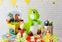 Birthday - Mario & Luigi & Up / #Mario #Luigi birthday bash / by Evelyn Kelley