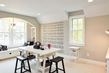 Upstairs Playroom/Family Room / by Amanda Churchill