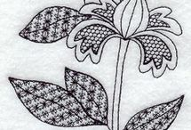 For the Love of Blackwork Embroidery / by Tina Sanders