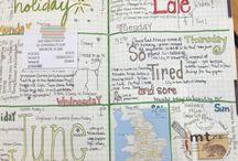 Journals / by Jennifer Baggerly- Milligan