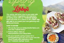 Celebrating Spring w/Libby's at our Table / by Jennifer Essad