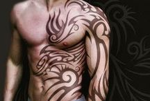 Tattoos / by Drew It Yourself - D.I.Y.